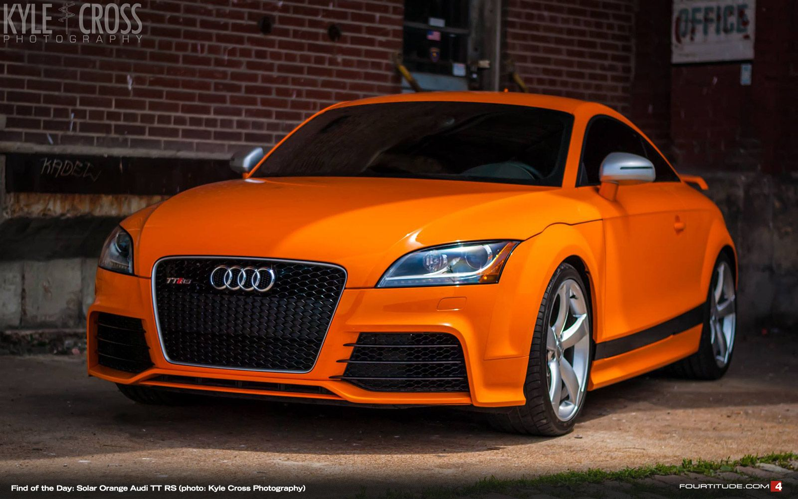 find of the day 2013 audi tt rs in solar orange audi pinterest cars and mk1. Black Bedroom Furniture Sets. Home Design Ideas