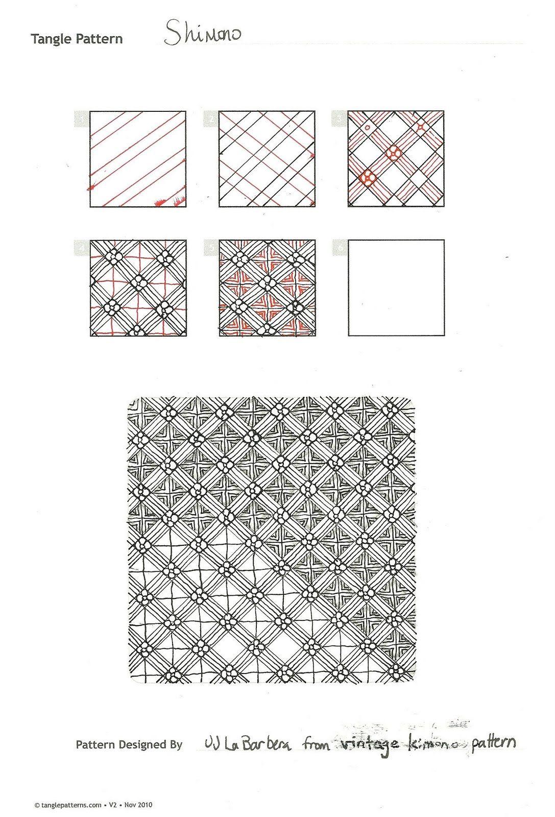 Tangle Patterns New Design Ideas