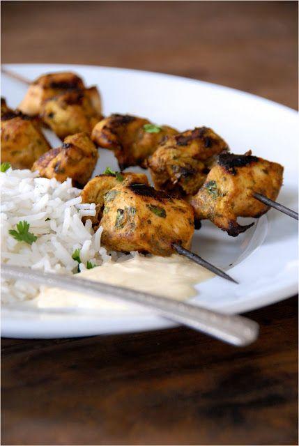 Recipe Redux: Grilled Tandoori Chicken Skewers
