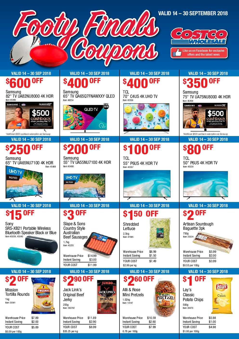 Costco Catalogue Coupon 14 30 September 2018 Http Olcatalogue Com Costco Costco Catalogue Html Costco Catalog Grocery