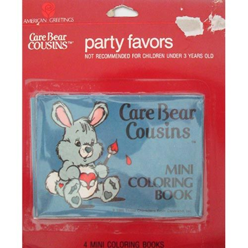 Care Bears Vintage Care Bear Cousins Mini Coloring Books 4ct Care Bears Cousins Care Bears Vintage Coloring Books