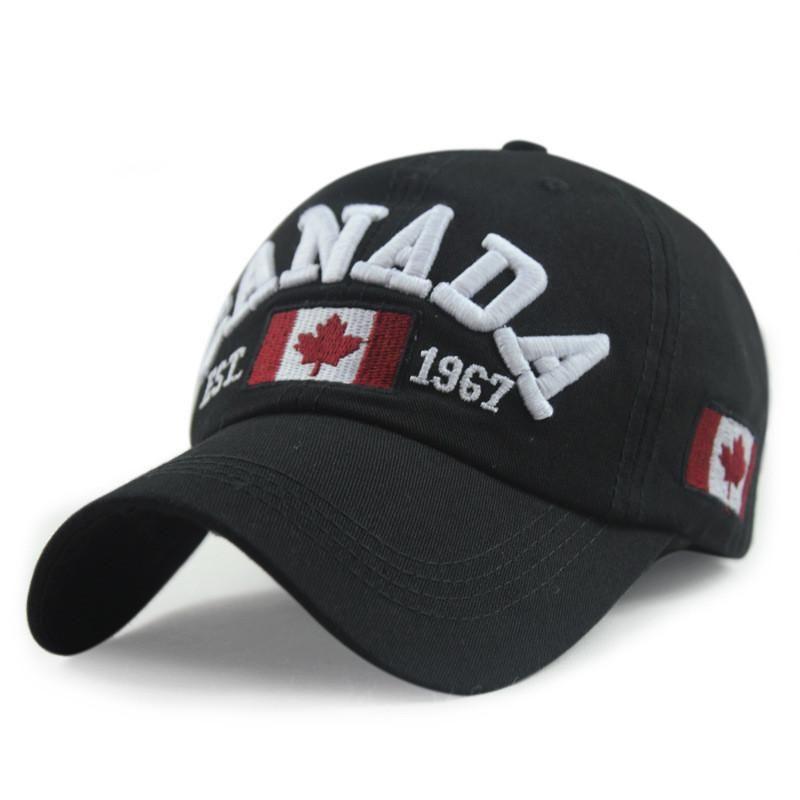6663c010bef Men s High Quality Cotton Canada Baseball Cap – Zorket