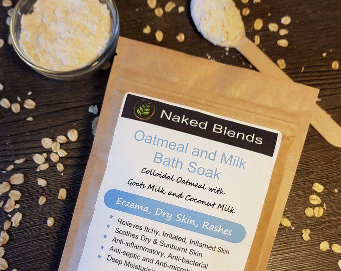 Oatmeal Goat and Coconut Milk Bath Soak  Eczema Dermatitis Rashes Dry skin #milkbath Oatmeal Goat and Coconut Milk Bath Soak  Eczema Dermatitis Rashes Dry skin #milkbath