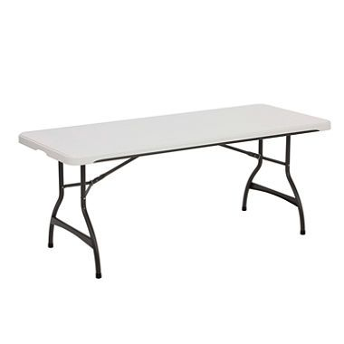 Lifetime 6 Commercial Grade Stacking Folding Table Choose A