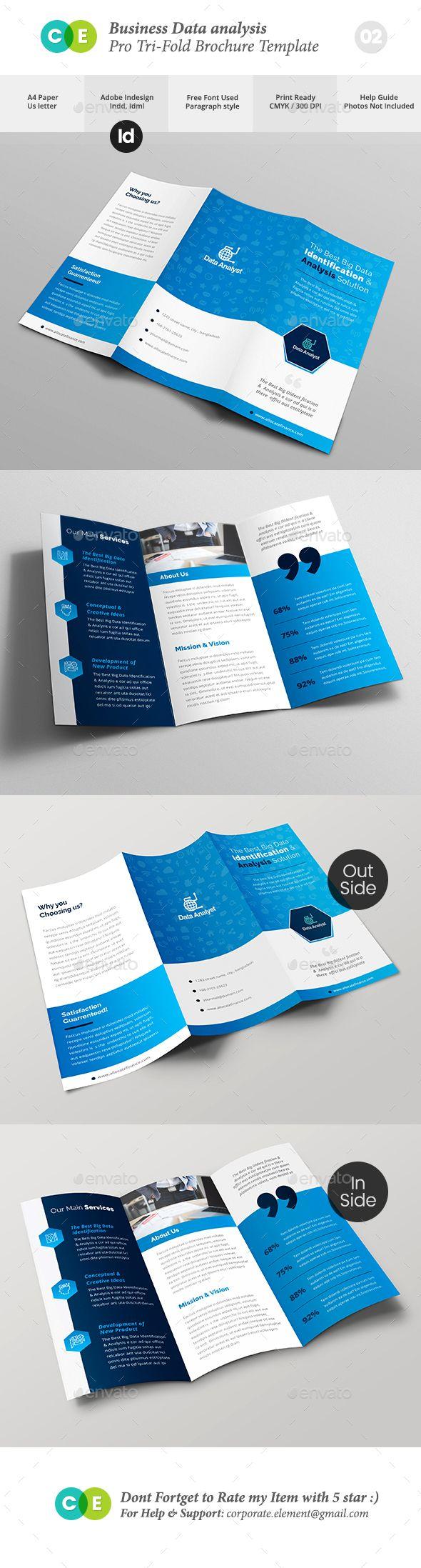 Pro Business Data Analysis TriFold Brochure V  Tri Fold