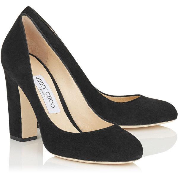 Thick heels pumps, Round toe pumps