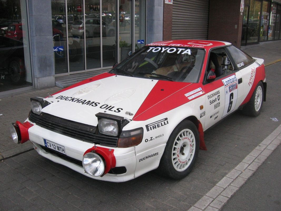 1988 Toyota Celica - 165 TTE Works Rally Car | Classic Driver Market ...