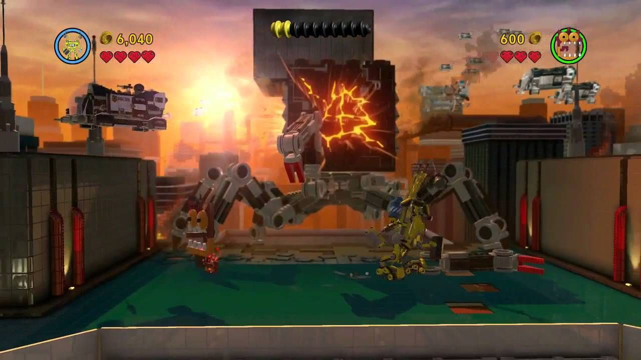 Kid Gaming The Lego Movie Videogame Final Part Last Battle Xbox One