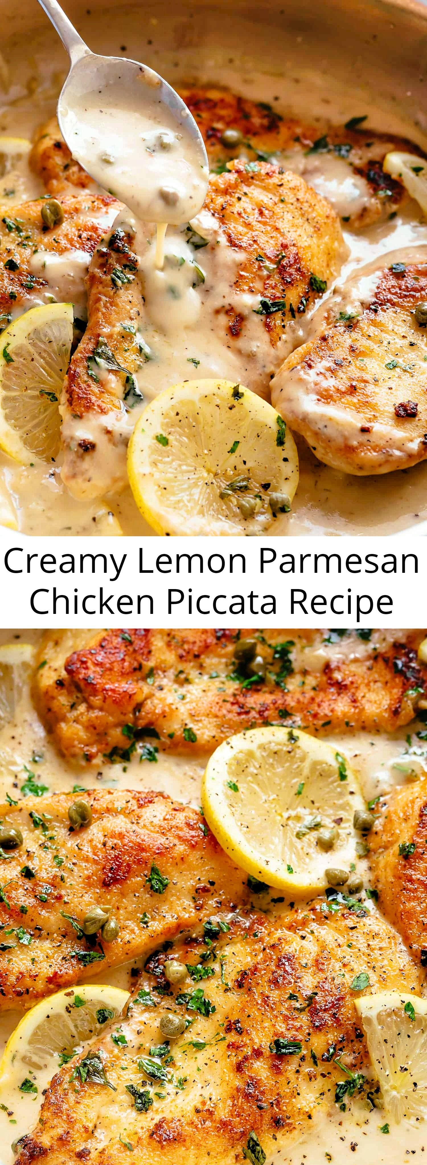 The ultimate in gourmet comfort food with parmesan cheese, garlic and a creamy l…