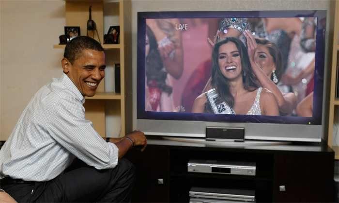 Paulina Vega Miss Universo 2014 coronacion en vivo Obama