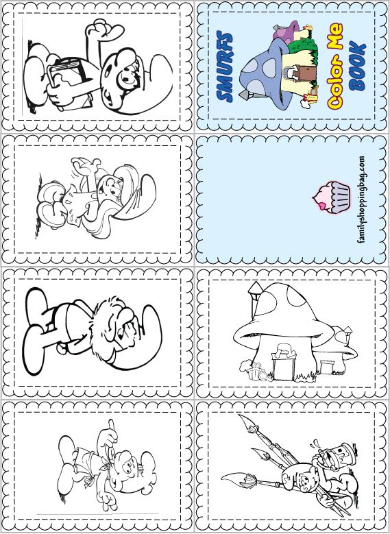 - Www.familyshoppingbag.com Img View-print.php?img=smurfcolorbook2012.jpg Coloring  Books, Disney Coloring Pages, Smurfs
