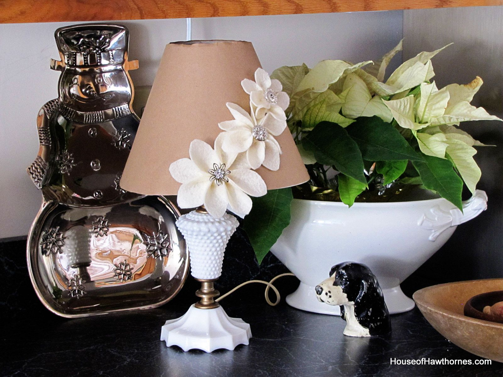 House of Hawthornes: Milk Glass At Home