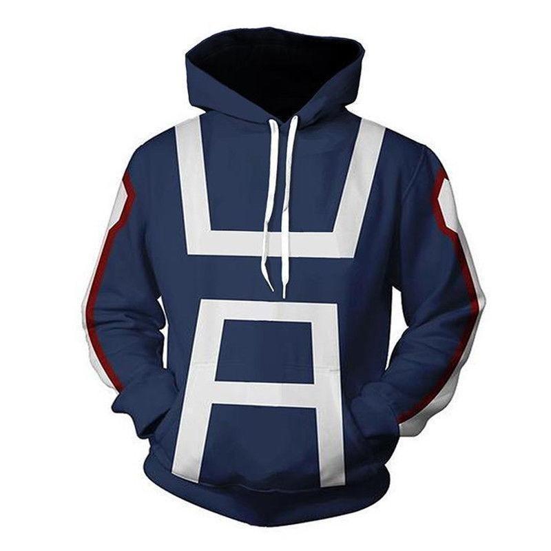 Activewear My Boku No Hero Academia Cosplay Kohei Horikoshi Hoodie Gym Sweatshirt Coat Top Hoodies & Sweatshirts