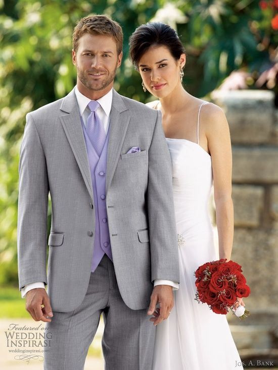 Men's Suits Grey for Special Wedding | I Do | Pinterest | The two ...