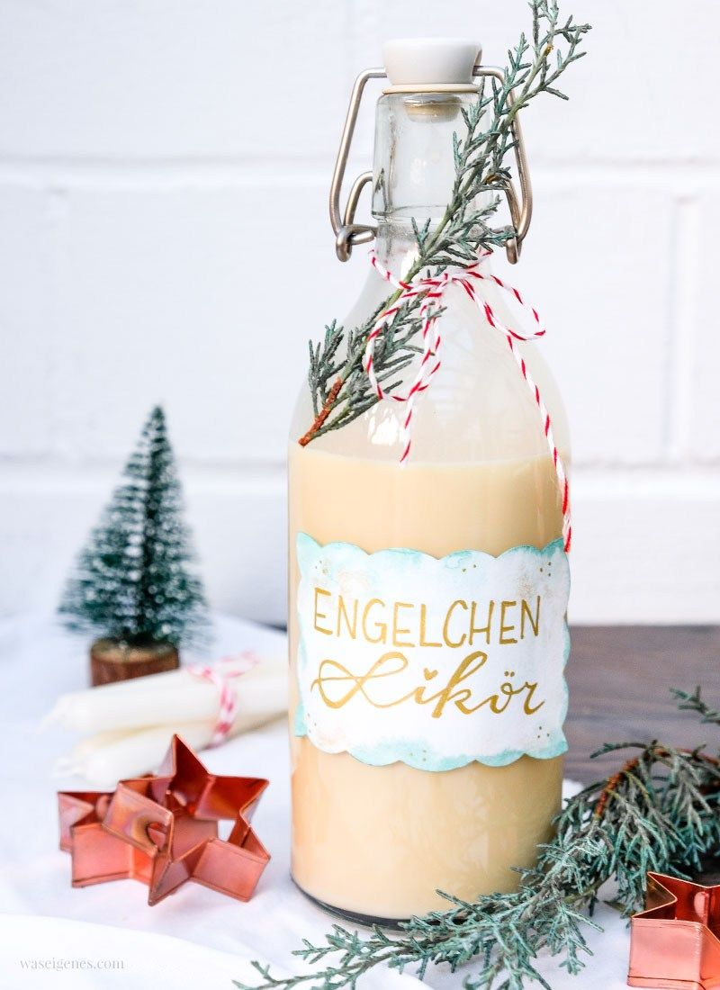 Die helle Freude: Rezept Engelchen Likör - cremig süß!