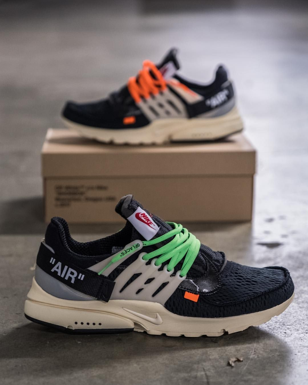 quality design 1c9d2 fe7ff OFF WHITE x Nike Air Presto
