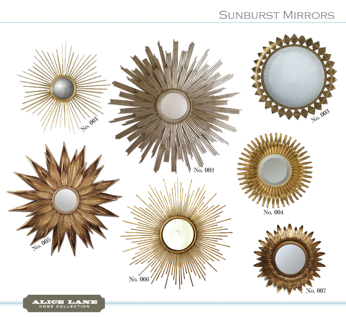 Sunburst Wall Mirror how-to: create a sunburst mirror wall | tufted bed, an and never