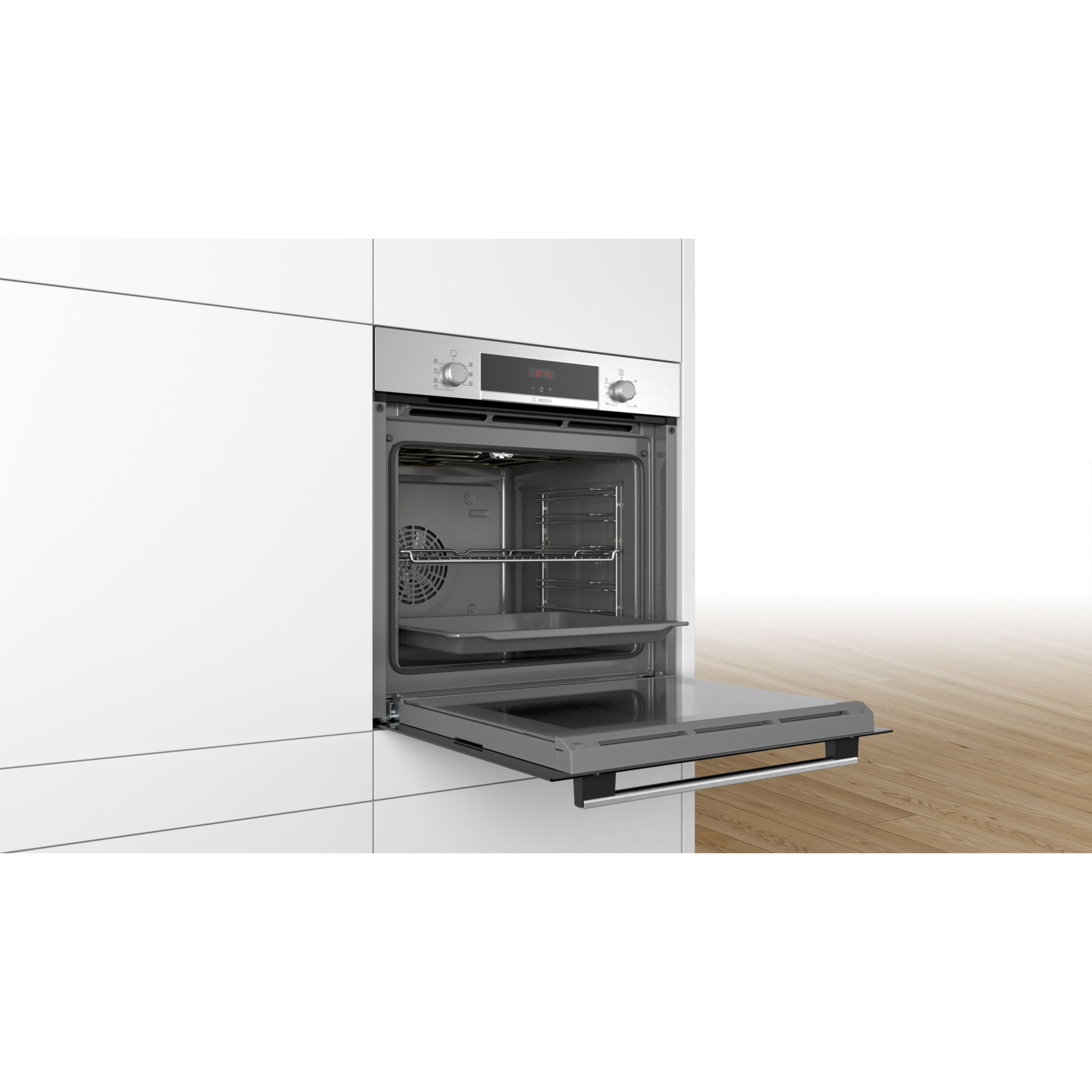 Bosch Hbs534bs0b Built In Single Oven Stainless Steel Single Oven Stainless Steel Oven Built In Ovens