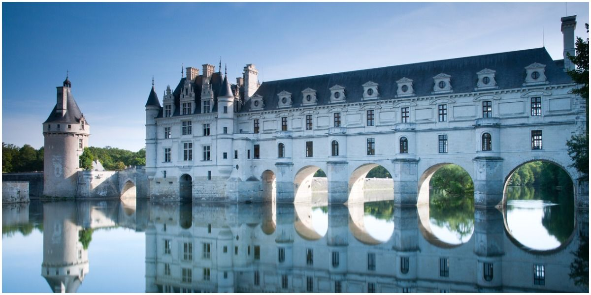 Chateau De Chenonceau After Henry Ii Died His Widow Catherine