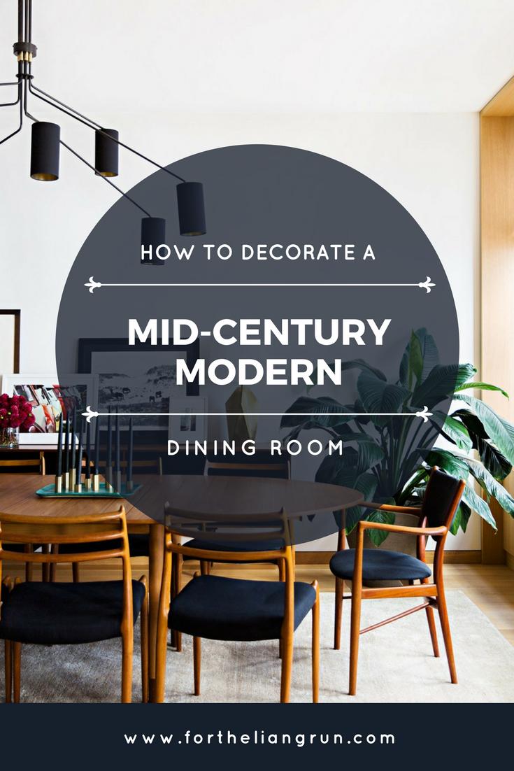 Royal Mid Century Modern Dining Room Decor Ideas Dining Room