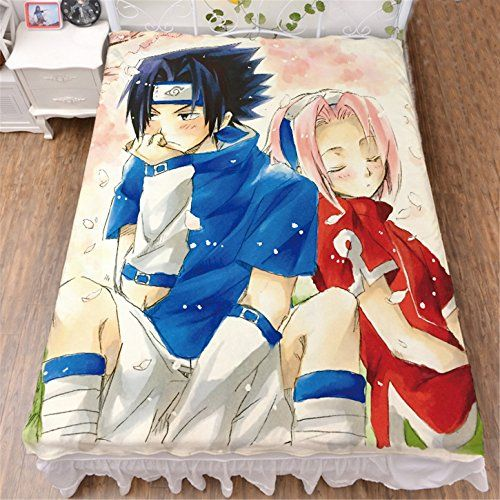 Vicwin-One Naruto Uchiha Sasuke Bedding Set Bedsheet Quilt Cover Cosplay (Sheet) >>> You can get more details by clicking on the image.