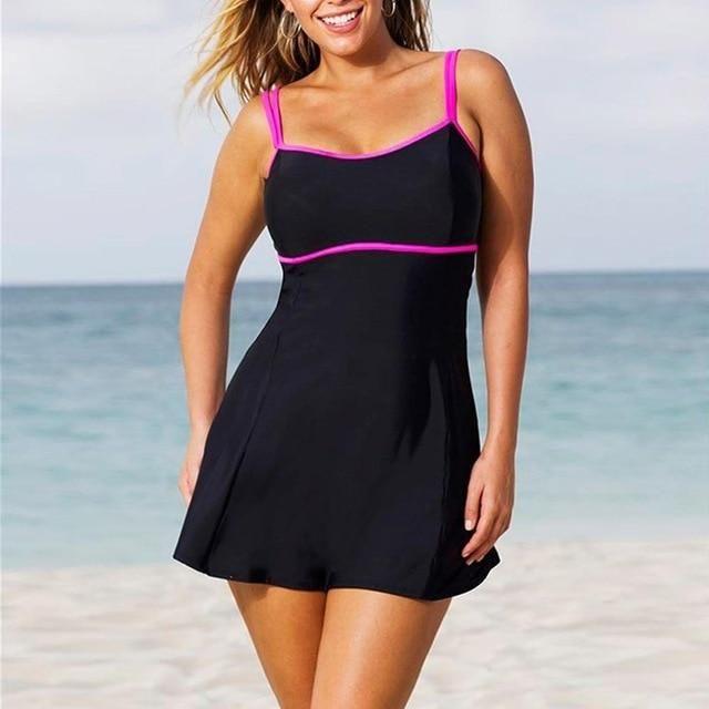 9afd1baa47d7d Women's Plus Size 2 Piece Tankini Dress Swimsuit HS229 – 105 Hillside