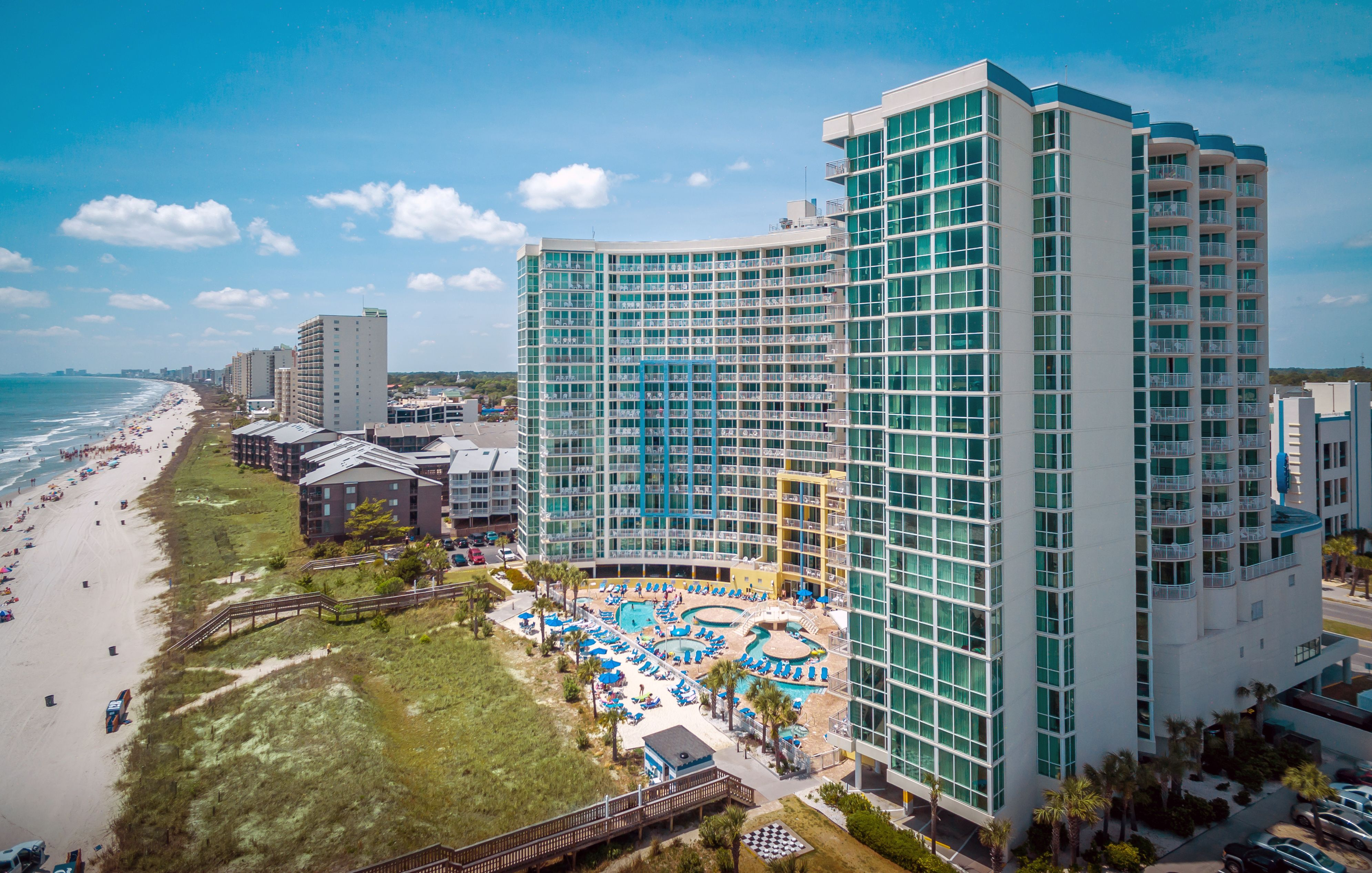 Such a Beautiful view of the Avista Resort in North Myrtle