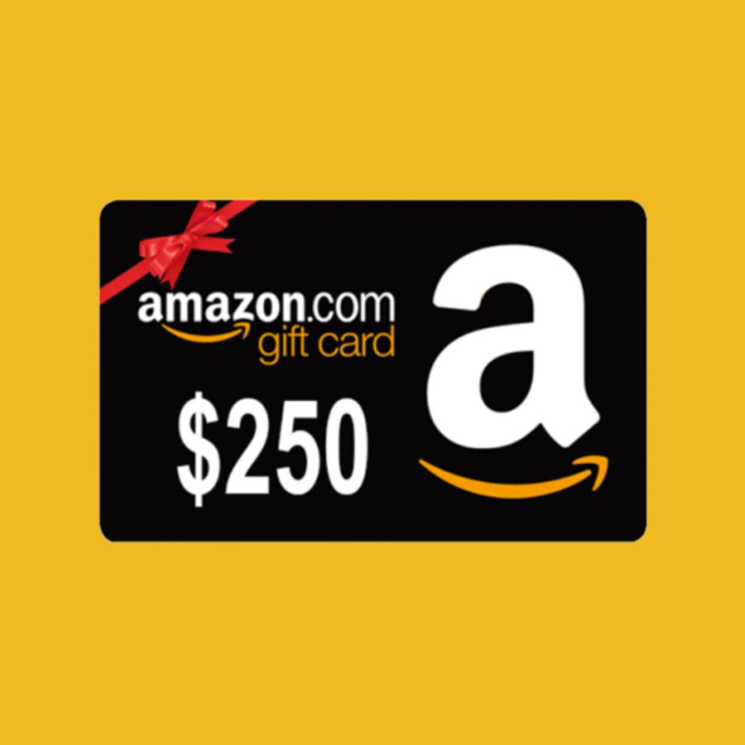 250 amazon gift card new year giveaway in 2020 amazon