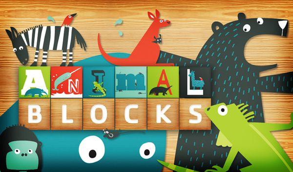 AnimalBlocks iPad App by Flightless , via Behance Ipad