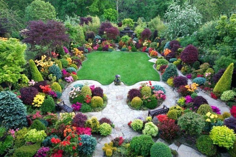 Beautiful Flower Garden Designs 2020, Flowers Gardens And Landscapes