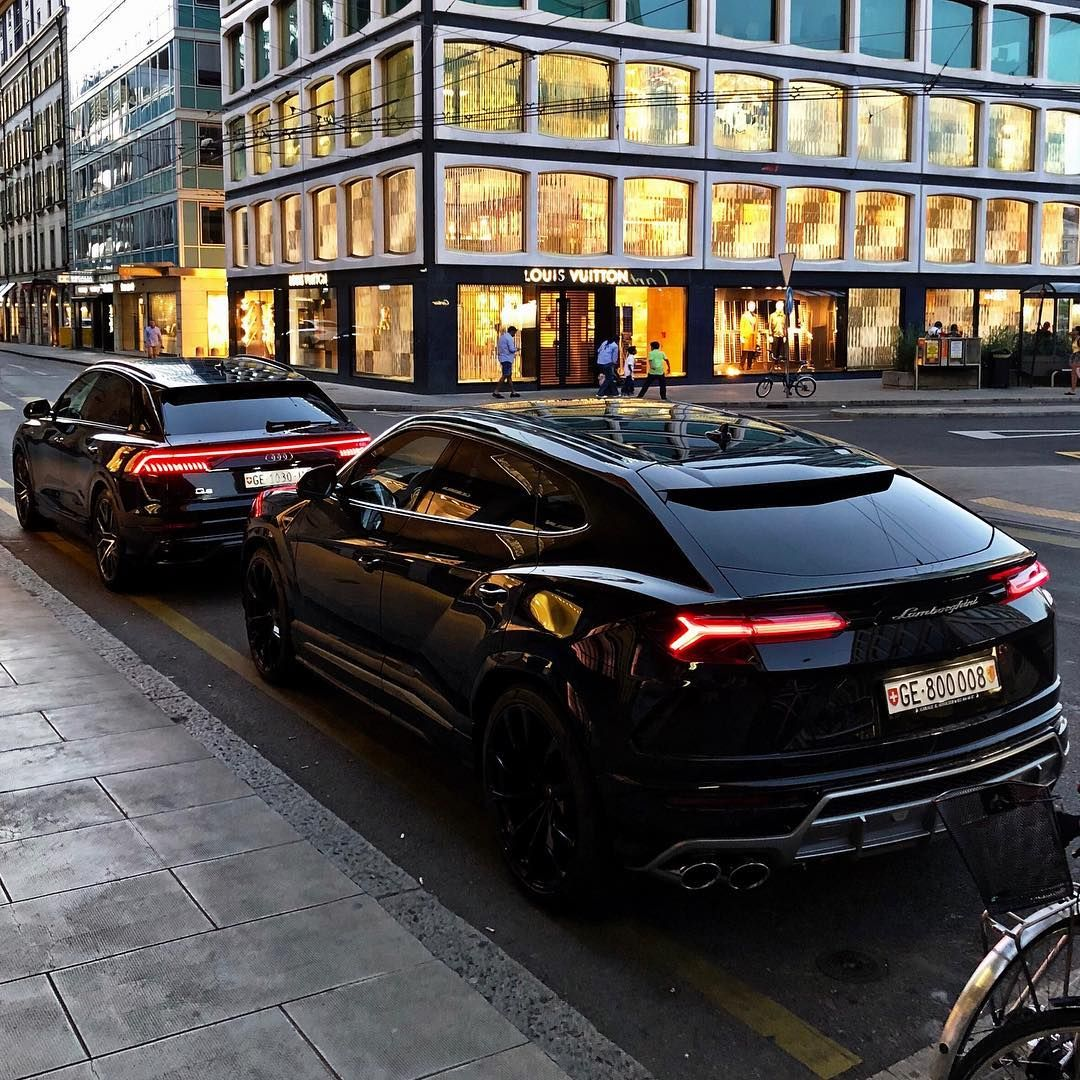 Audi Q8 Or Lamborghini Urus Photo Alexandremourreau