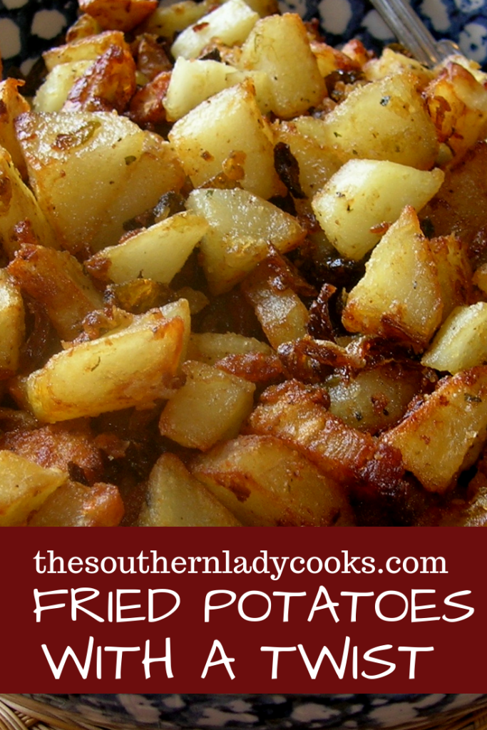 FRIED POTATO BREAKFAST BOWL - The Southern Lady Co