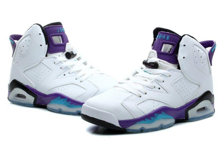 Womens Air Jordan 6 Grape Customs