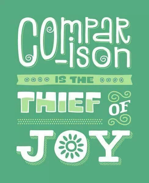 Do not compare!