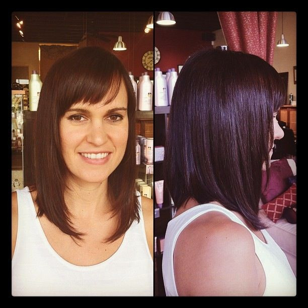 The 25+ best Extra long bobs ideas on Pinterest | Easy