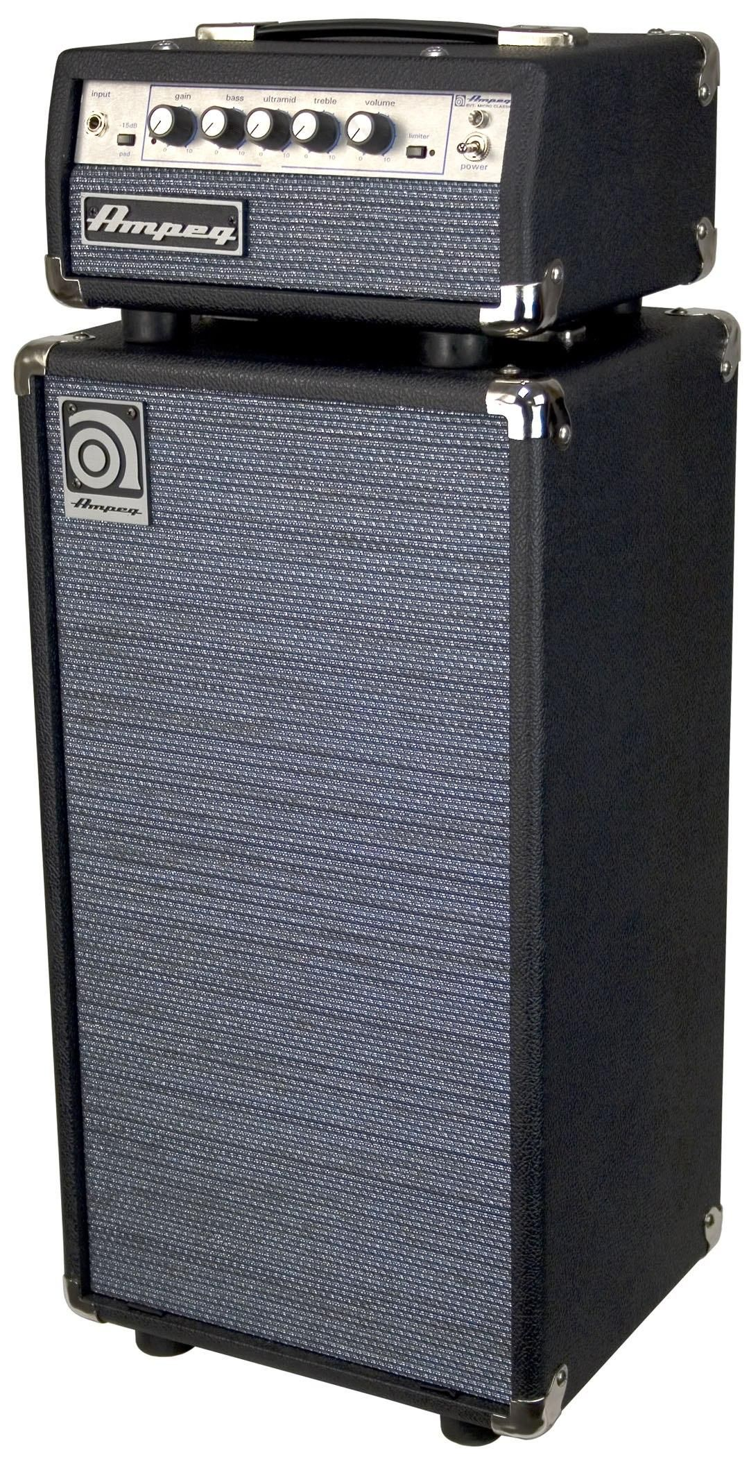 I'm really getting into the bass. My brother used to have a rig like this.