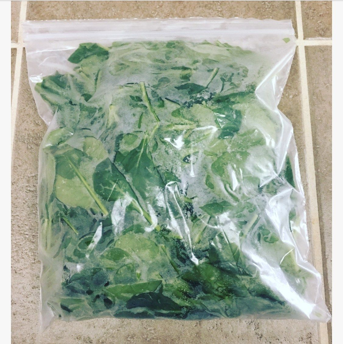 How to freeze spinach the easy way in 2020 with images