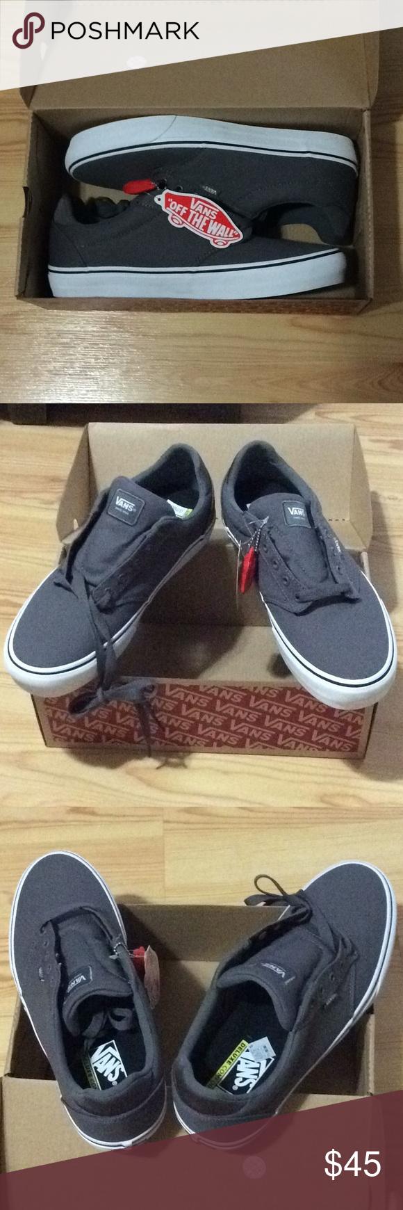 Vans Atwood Deluxe Comfort shoes NIB