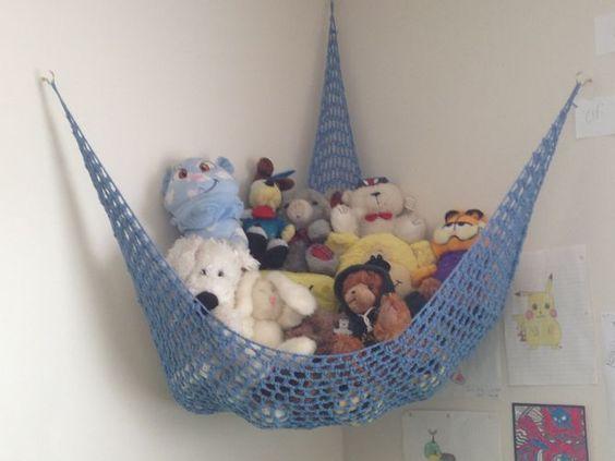 Crochet a Toy Storage Hammock & Crochet a Toy Storage Hammock | Toy storage Storage and Toy