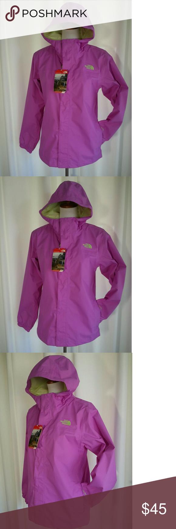 53af00325867 The North Face Zipline Rain Jacket Girls XL NWT Girls youth size XL ...