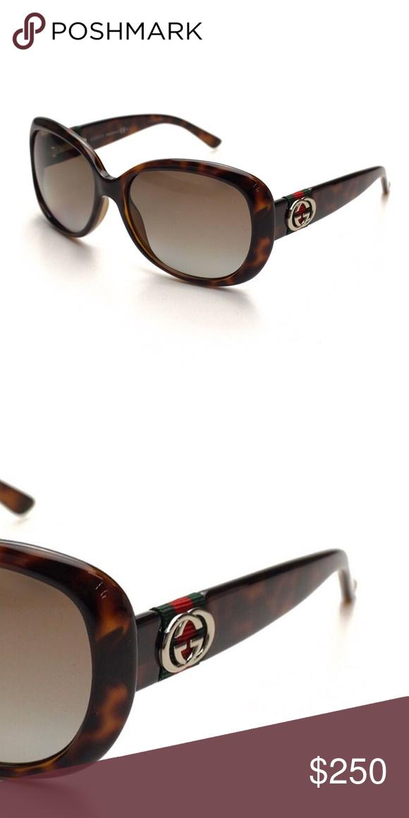 2847db526f683 NWT Gucci Oversized Sunglasses
