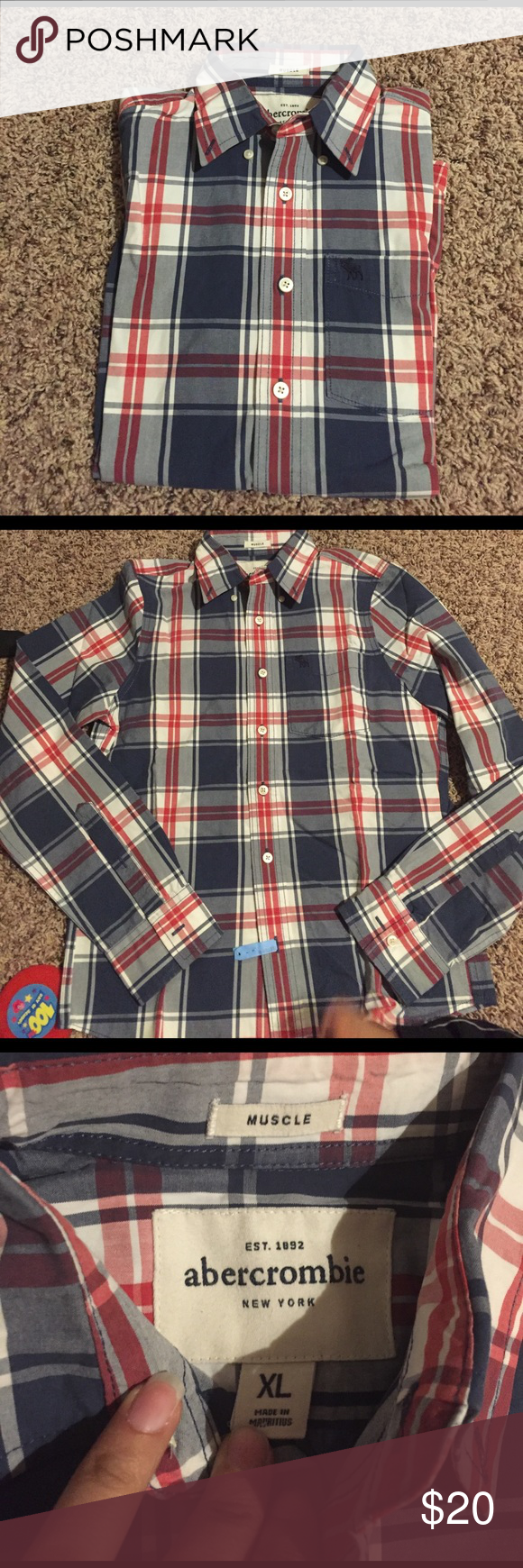 Abercrombie shirt Good condition size xl . Muscle Abercrombie & Fitch Shirts