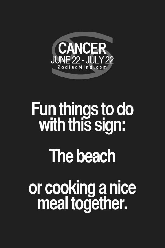 Daily Horoscope Cancer Fun facts about your sign here Zodiac Mind Your #1 source…