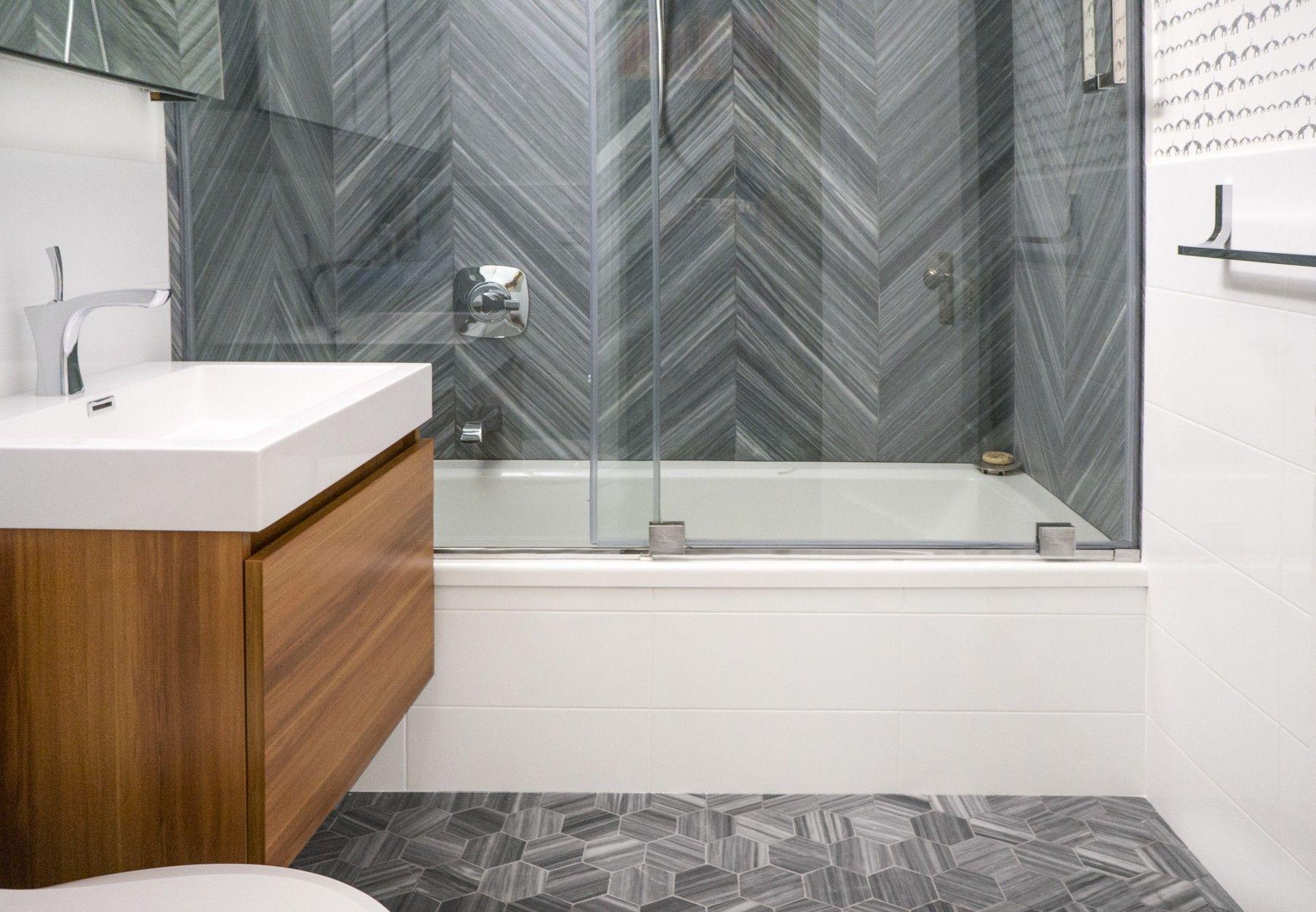 Milan Gray Chevron Honed Marble Tile Pinterest Marble Tiles