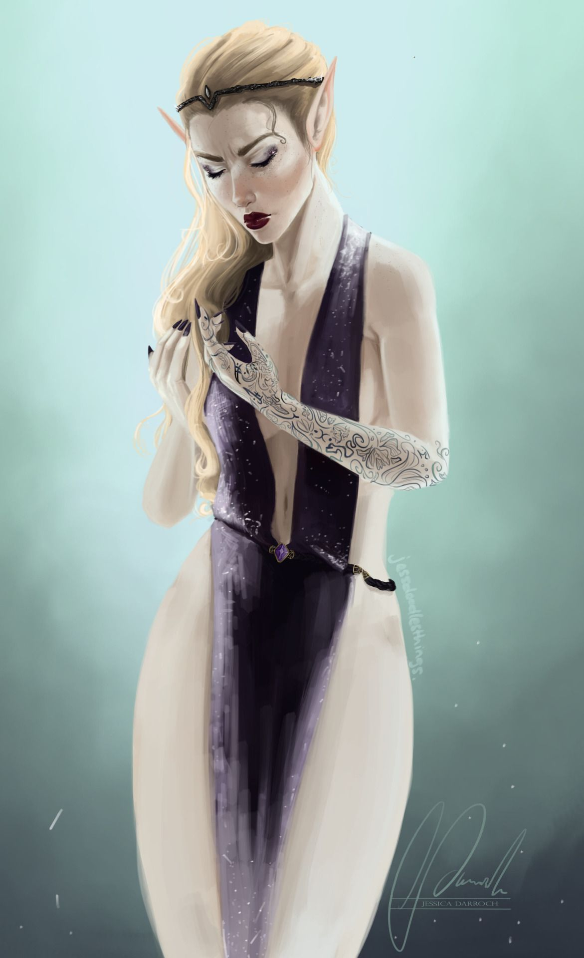 I Do Get A Little Bit Annoyed When They Paint Feyre With Blonde