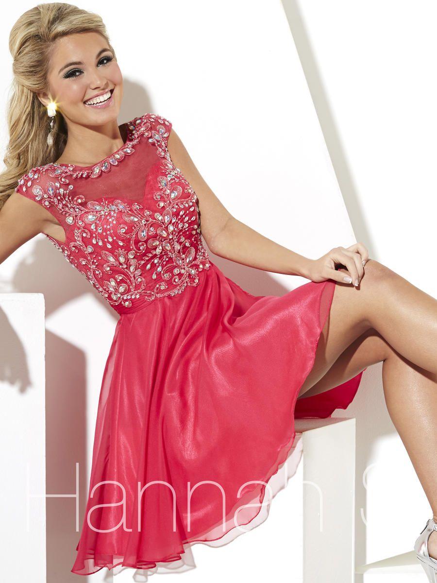 d0bbfcab422 Hannah S Dress 27888 Orlando. Hannah S 27888 Hannah S Bedazzled Bridal and  Formal Modest Homecoming Dresses