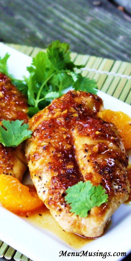 Menu Musings of a Modern American Mom: Mahogany Glazed Chicken
