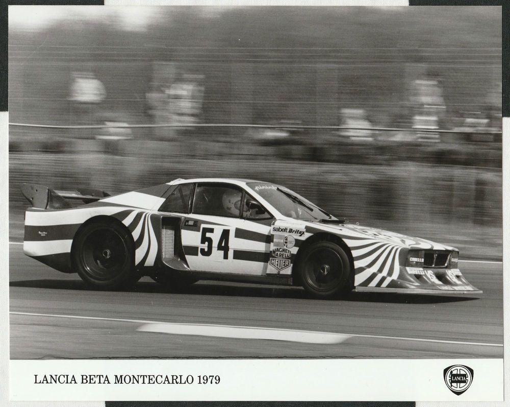 Lancia Beta Montecarlo Turbo Silverstone 6 Hours 1980