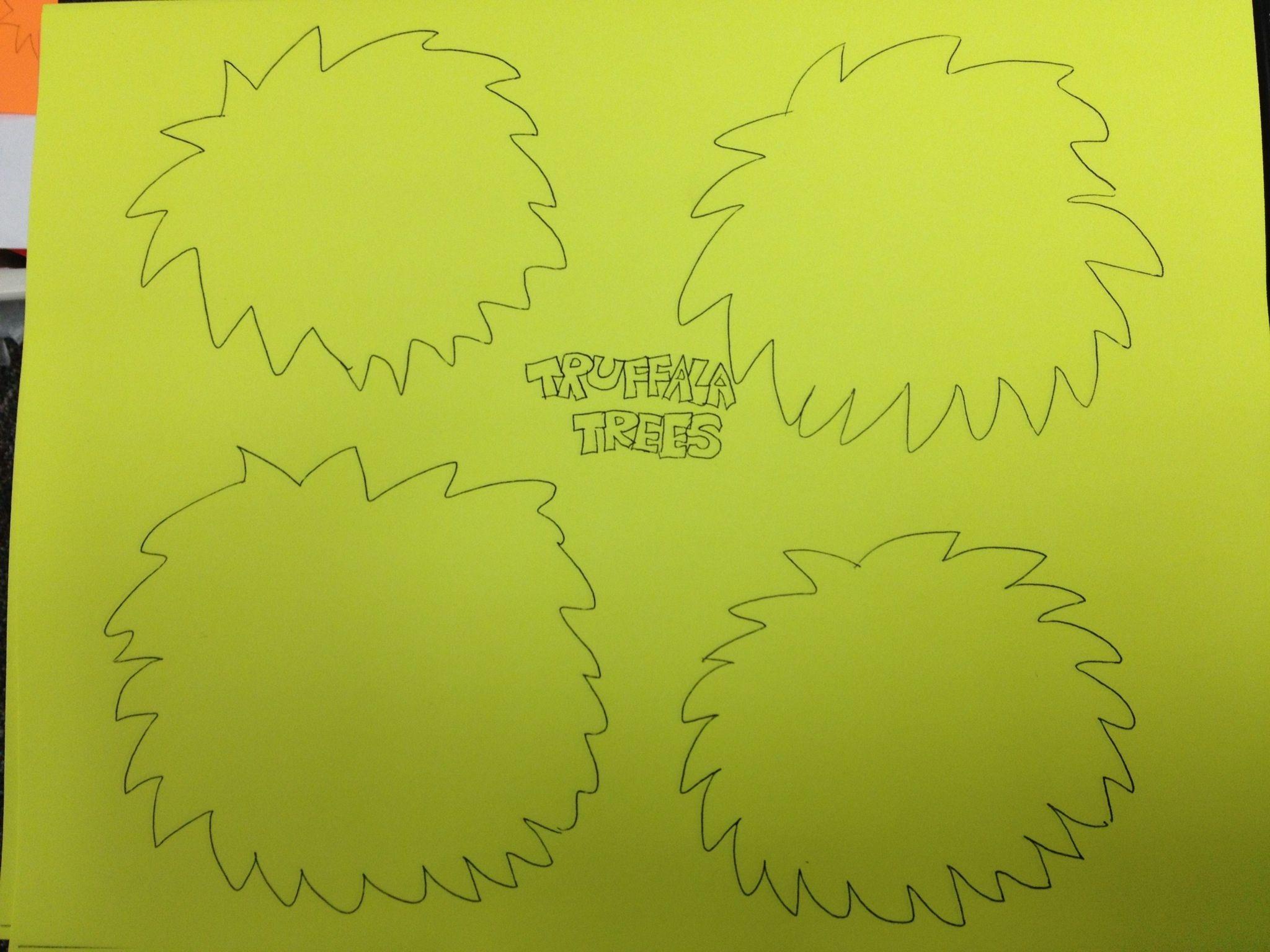 Truffula Tree Pattern