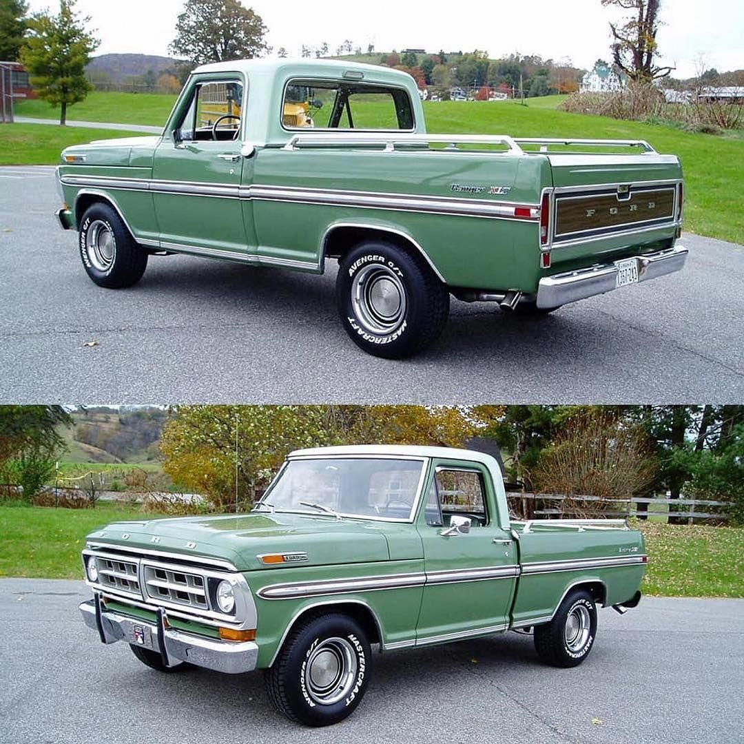 Read All About This Fully Restored 1968 Ford F 100 Pickup Truck Powered By A Ford 360 Engine Only At Www Cu Ford Trucks Classic Trucks Classic Trucks Magazine